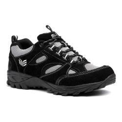 Men's Mt. Emey 98708-1L Orthopedic Sneaker Black Suede/Leather/Mesh