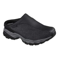Men's Skechers After Burn Memory Fit Chamlan Sneaker Clog Black/Charcoal