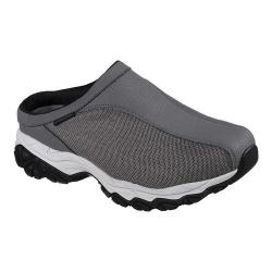 Men's Skechers After Burn Memory Fit Chamlan Sneaker Clog Charcoal