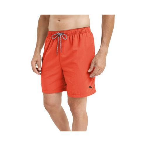 78a5f2aa07 Men's Tommy Bahama Naples Happy Go Cargo 6in Swim Trunks Red Hot