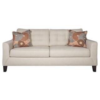 Signature Design by Ashley Benissa Alabaster White Queen Sofa Sleeper