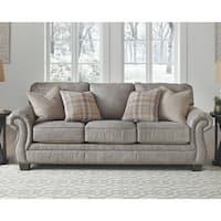 Olsberg Traditional Steel Grey Sofa