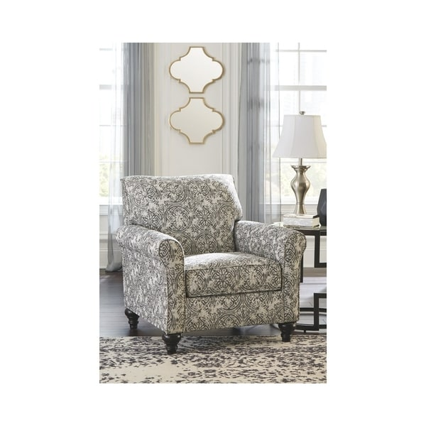 Exceptionnel Benchcraft Praylor Traditional Slate Patterned Accent Chair