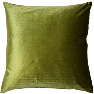 Pillow Decor - Corona Chartreuse Velvet Pillow 16x16