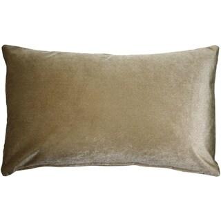 Pillow Decor - Corona Sable Velvet Pillow 12x20