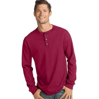 Link to Hanes mens Beefy-T Long-Sleeve Henley (O5719) Similar Items in Shirts