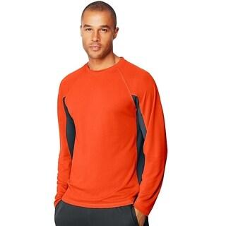 Hanes mens Performance Long-Sleeve Training T-Shirt (O5A07)