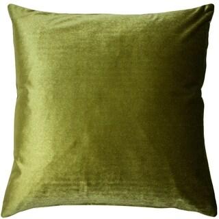 Pillow Décor - Corona Chartreuse Velvet Pillow 19x19