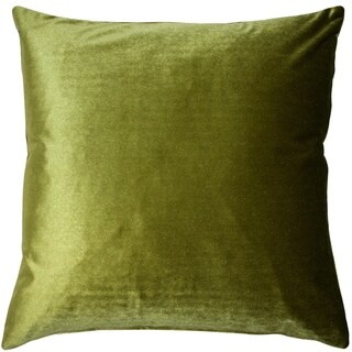 Pillow Decor - Corona Chartreuse Velvet Pillow 19x19