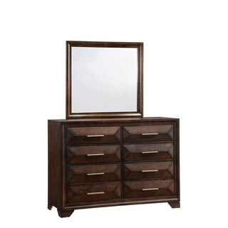 Simmons Casegoods Anthem Eight Drawer Dresser With Mirror