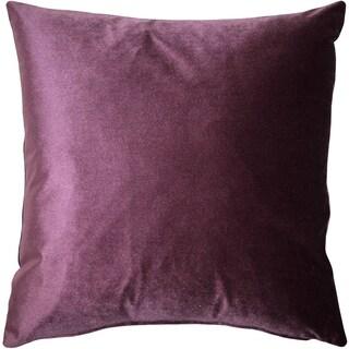 Pillow Décor - Corona Aubergine Velvet Pillow 19x19