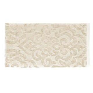 Five Queens Court Sarah Velour Chenille Damask Bath Towel