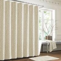 Five Queens Court Sarah Woven Jacquard Shower Curtain