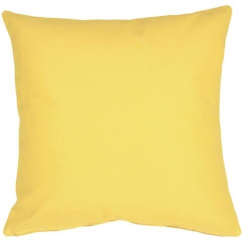 Pillow Décor - Sunbrella Buttercup Yellow 20x20 Outdoor Pillow