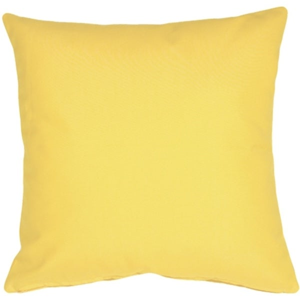Shop Pillow Decor Sunbrella Buttercup Yellow 20x20 Outdoor Pillow