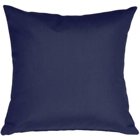 Pillow Décor - Sunbrella Navy Blue 20x20 Outdoor Pillow