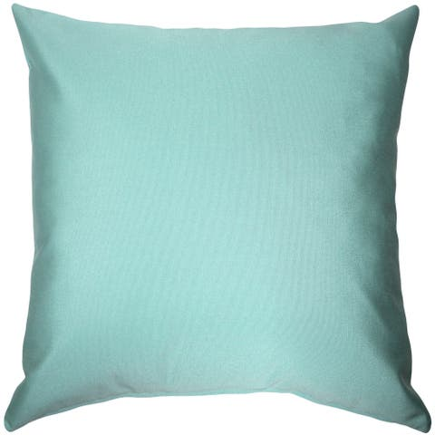 Pillow Decor - Sunbrella Glacier Blue 20x20 Outdoor Pillow