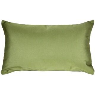Pillow Décor - Sunbrella Peridot Green 12x20 Outdoor Pillow