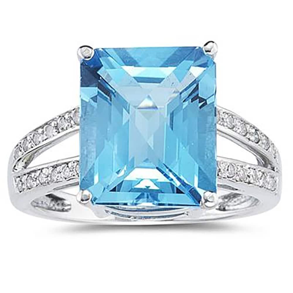 2.00 Ct Emerald Cut Diamond Engagement Wedding Ring White Gold Finish Size J K L