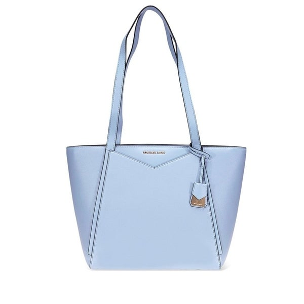a2271447fcbc Shop MICHAEL Michael Kors Whitney Small Pebbled Leather Tote Pale ...