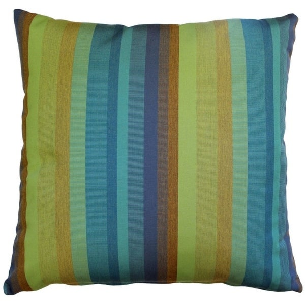 Shop Pillow Decor Sunbrella Astoria Lagoon 20x20 Outdoor Pillow