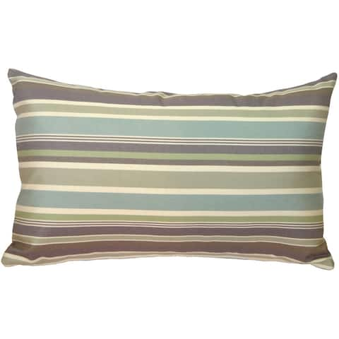 Pillow Decor - Sunbrella Brannon Whisper 12x20 Outdoor Pillow