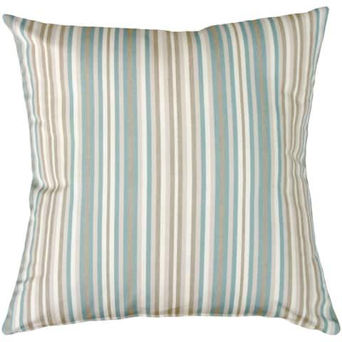 Pillow Decor - Sunbrella Gavin Mist 20x20 Outdoor Pillow