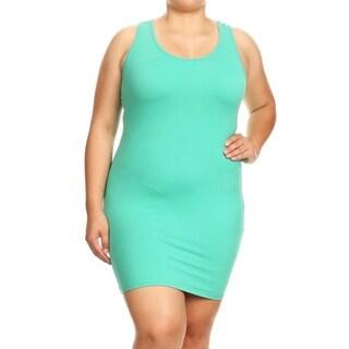 Casual Sexy Racerback Bodycon Mini Dress