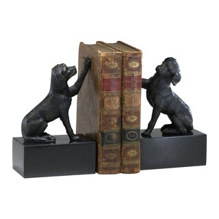 Cyan Design Iron Dog S/2 Bookends
