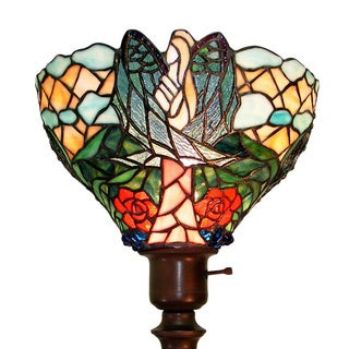 Tiffany-style Angelic Floor Lamp