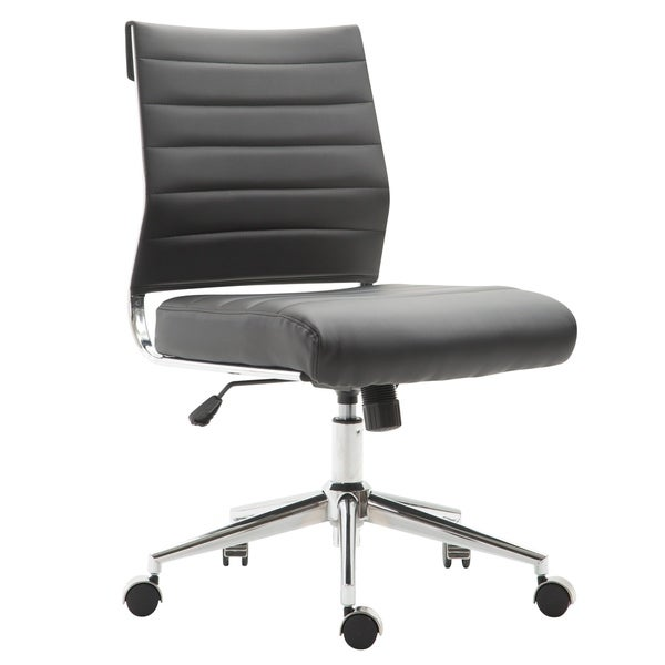 Carson Carrington Large Poly and Bark Task Chair in Vegan Leather