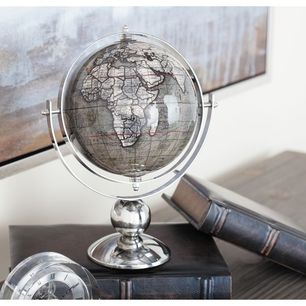 Strick & Bolton Vanessa Stainless Steel PVC Gray Globe. Opens flyout.