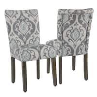 Homepop Classic Parsons Dining Chair - Suri Blue -