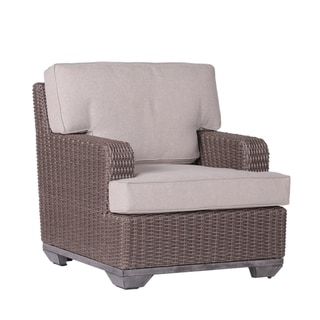 Havenside Home Anahuac Club Outdoor Chair with Cushion