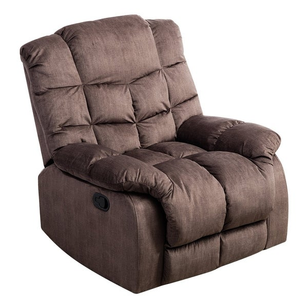 Shop Bonzy Recliner Chair With Quilted Padded Backrest