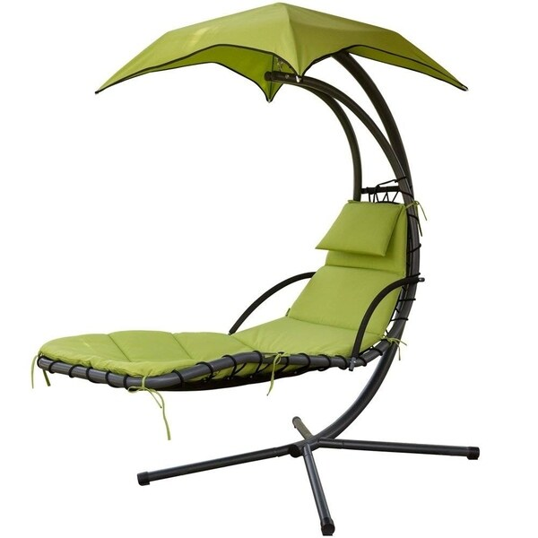 Shop Patiopost Outdoor Hanging Chaise Chair Swing Hammock