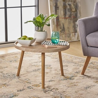 Link to Marquette Traditional Faux Wood Side Table by Christopher Knight Home Similar Items in Living Room Furniture