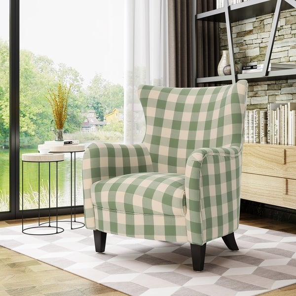 Arabella Farmhouse Armchair by Christopher Knight Home. Opens flyout.