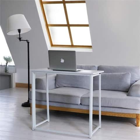 Porch & Den Elliott Folding Writing Study PC Office Table Desk