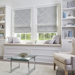 Link to Damask Room Darkening Roman Shade Similar Items in Window Treatments