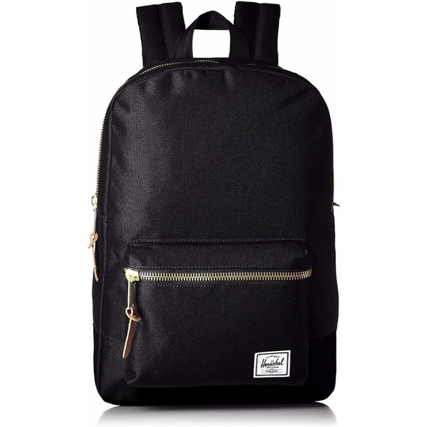 ccc7835a1e Shop Herschel Settlement Mid-Volume Backpack Black - Free Shipping Today -  Overstock - 22633926