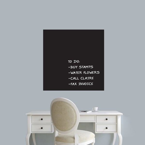 shop chalkboard square wall decals wall stickers - ships to canada