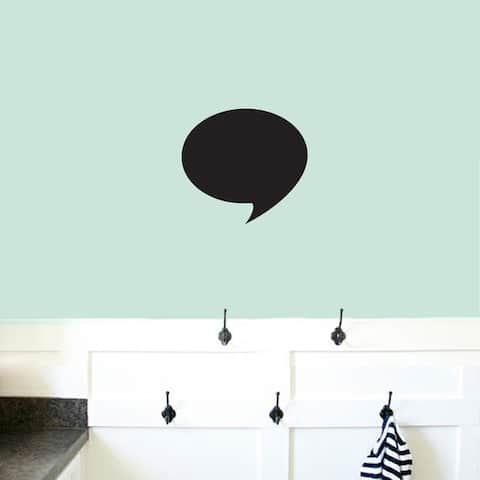 Chalkboard Word Bubble Wall Decals Wall Stickers