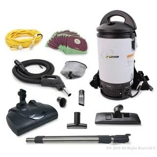Proteam Sierra Commercial Backpack Vacuum w/ Wessel Werk Head