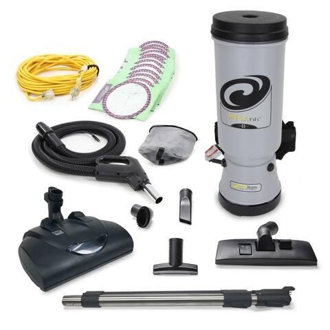 Proteam MEGAVAC 10 Qt Commercial Backpack Vacuum w/ Wessel Werk Head