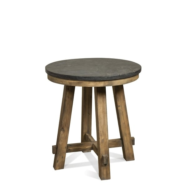 Weatherford Round End Table Base Only
