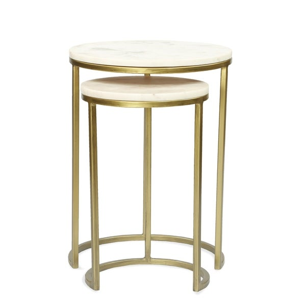 Shop Edith Nesting End Tables Bases Only Free Shipping Today
