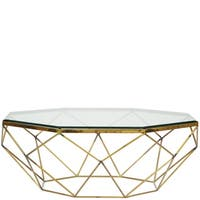 Lucentio Octagon Cocktail Table TOP ONLY