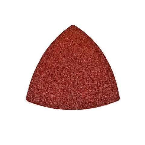 ALEKO Triangle Sanding 150 Grit Pads 3.5 x 3.5 x 3.5 inch 15 Pieces