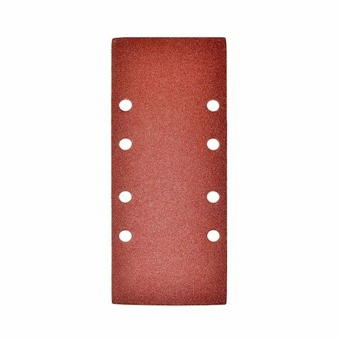 ALEKO 80 Grit Sandpaper Sheets with Holes 3.7 x 9 Inches 5 Pieces
